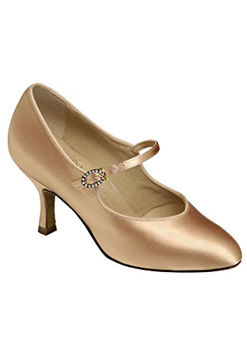 Supadance Womens Ballroom Shoes 1012 with Regular Width & 2