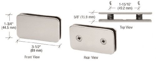 Double Stud Glass Clamp - 7