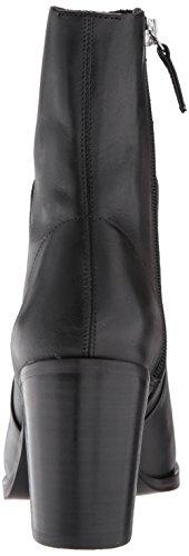 Madden Leather Steve Black Rewind Women's Boot Fashion dwYqRwg