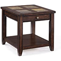 Magnussen Allister T1810-03 Wood Rectangular End Table