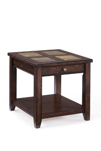 - Magnussen Allister T1810-03 Wood Rectangular End Table