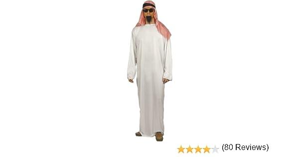 Disfraz Disfraz Jeque Sheikh traje árabe de Arabia Orient Gr. 48 ...
