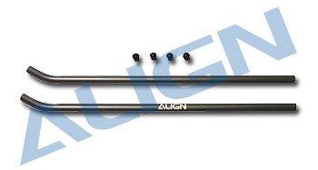Align Skid Pipe - Align Landing Skid/Skid Pipe and Cap (2): All T-Rex 600
