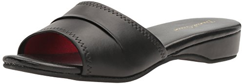 - Daniel Green Women's Dormie Slipper,Black,8 W