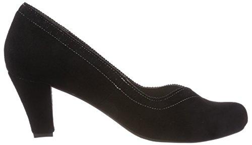002 Hirschkogel Escarpins schwarz Femme Fermé Noir Bout 3001540 OU08wOq