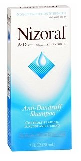 Nizoral Shampooing antipelliculaire, 7-bouteille d'once, Pack 4