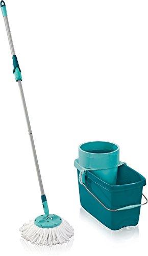 Leifheit 52019 Set Clean Twist System Mop, 20 l Fassungsvermögen, classic grün