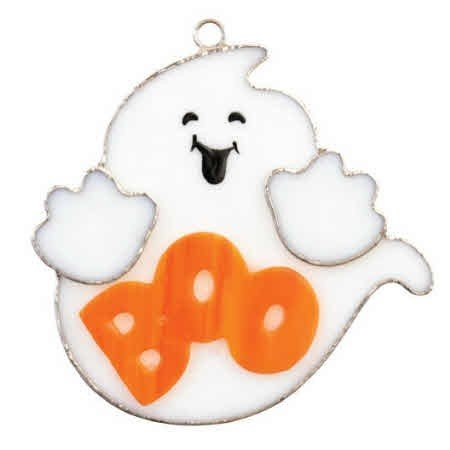 Switchables Stained Glass Cover, BOO (Switchables Night Light Cover)