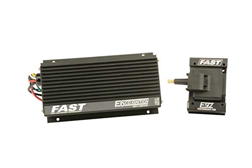- Fast 6000-6405 E6 CD Ignition w/Single Stage Rev Limiter and E92 Coil