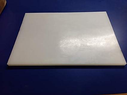 "UHMW Sheet 1//8/"" Polyethylene Plastic Black 1//8/"" x 6/"" x 6/"""