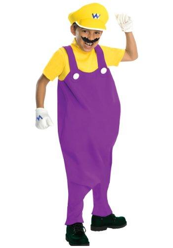 Deluxe Wario Child Costume - Medium