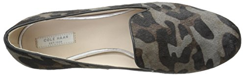 Women's Haan Grey Cole Deacon Haircalf Camo Flat Ballet Loafer q5xPC