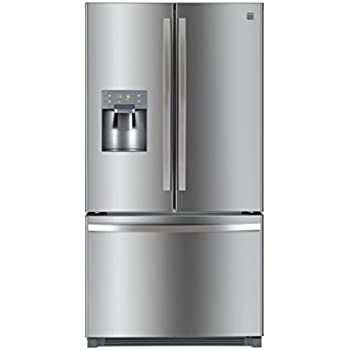 Kenmore 73045 25.6 cu.ft. French Door Refrigerator with Bottom-Freezer, includes delivery and hookup