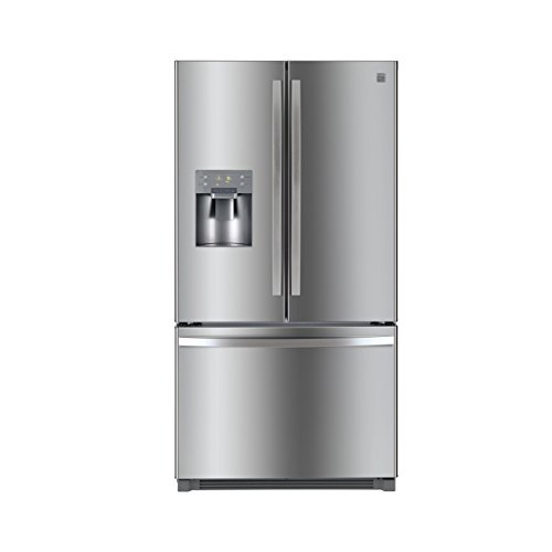 Kenmore 73045 25.6 cu.ft. French Door Refrigerator with Bottom-Freezer, includes delivery and hookup from Kenmore