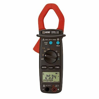 COLE-PARMER INSTRUMENTS AEMC 514 Clamp-On Meter, 0.05 to ...