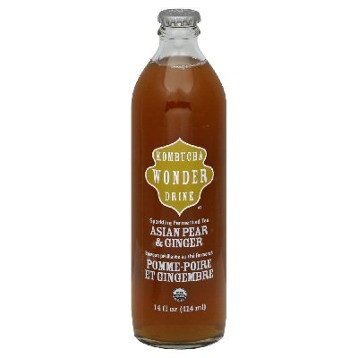 Kombucha Wonder Drink Asian Pear Ginger Drink - 14 oz