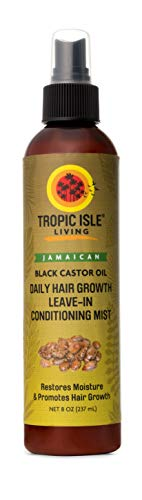 Tropic Isle Living Jamaican Black Castor Oil Daily Hair Growth Leave-in Conditioning Mist (8 ounce) (Jamaican Black Castor Oil Benefits For Hair)