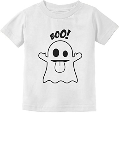 Easy Cute Halloween Costumes For Toddlers (Tstars Baby Boo Ghost Costume Cute Easy Halloween Toddler/Infant Kids T-Shirt 2T White)