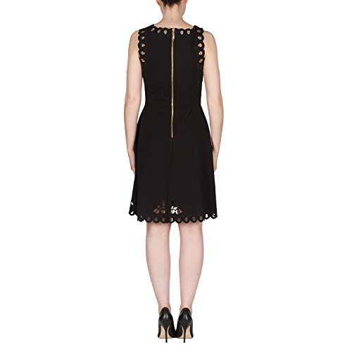 Joseph Ribkoff Laser Cut Lace Sleeveless Dress Style 173314 Size 12 by Joseph Ribkoff (Image #1)