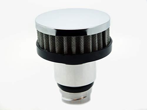 Billet Aluminum Valve Cover Oil Cap w/Chrome Breather LSX LS1/LS6/LS2/LS3/LS7 ()