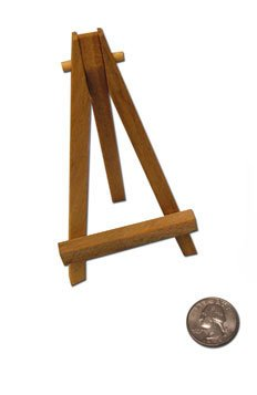 (Reeves Mini Easel 5 Inch Natural Wood)