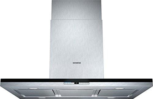 Siemens LF91BB552 iQ700 Inselhaube / 90, 0 cm / Die Lüfterleistung von 710 m3/h sorgt für frische Luft beim Kochen / Edelstahl [Energieklasse A]