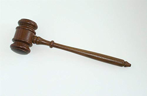 Gavel Authentic Walnut - Made in USA]()