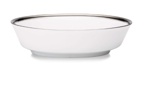 Noritake Austin Platinum Oval Vegetable Serving Bowl