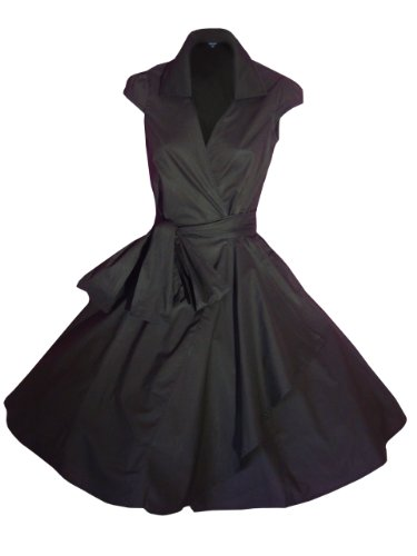 Look for the starsDamen-robe couleur :  noir-noir