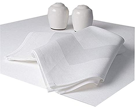 60 black restaurant dinner cloth linen napkins 20x20