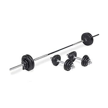 Mancuernas Pesas Gimnasio Entrenamiento Músculo Musculación Juego Pesas 40//50KG
