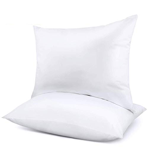 Adoric Pillows for Sleeping 2 Pack, Bed Pillows for Neck Pain Premium Down Alternative Cooling Hotel Pillow for Side & Back Sleeper with Cotton Cover Standard 2026 White