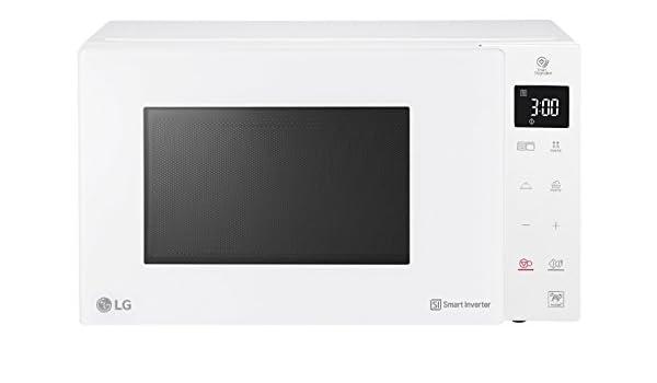 LG Kitchen mh7235gph.bwhqeus Horno Microondas Inverter, 1500 W, 32 ...