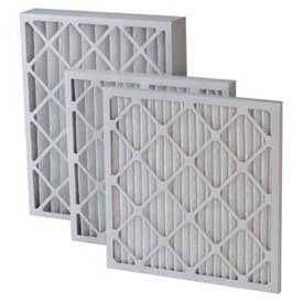 Filtration Manufacturing 0208H-20301 Pleated Filter 20' W x 30' H x 1' D, Merv 8, High Capacity - Lot of 12 Inc.