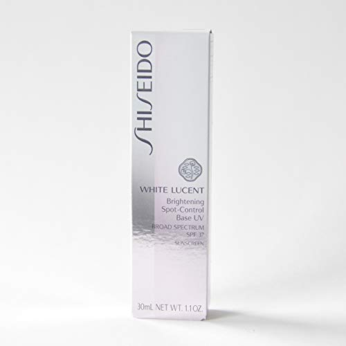 Shiseido White Lucent Brightening Spot-Control Base UV SPF35 PA+++ Sunscreen (Ivory) 1.1oz./30ml ()