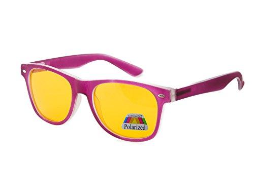 para Purple de Polarized Rubi morefaz hombre sol Gafas t16qF6