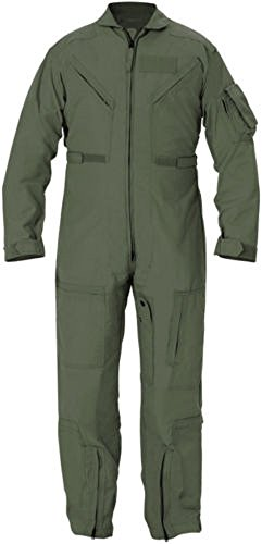 Genuine Issue GI CWU 27P Flyers Nomex Coveralls Fr Flight Suit Sage Green (52 R)