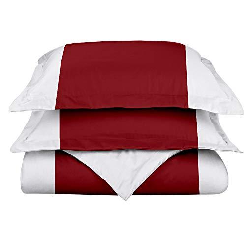 Loom Atrium Classic Design Duvet Cover Set 100% Cotton 3 Piece Duvet Cover Set (1 Duvet Cover + 2 Pillow Shams) with Zipper Closure & Corner Ties Twin/TwinXL (5 - Sharks Bed Jose San Set