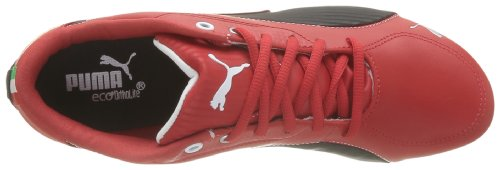 Puma Drift Cat 5 SF NM - Caña baja de cuero unisex Rojo - Rouge (Rosso Corsa/Black)