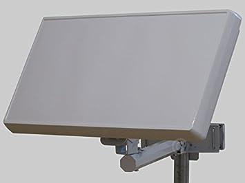 Selfsat h30d4 – Antena plana de satélite con integrado de Quad LNB