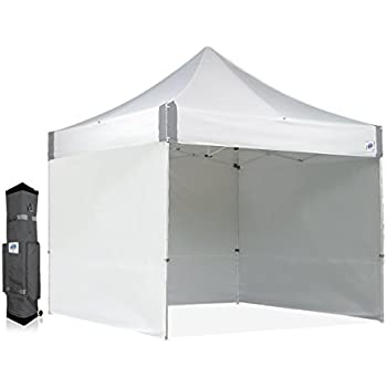 E-Z UP ES100S Instant Shelter Canopy 10 by 10u0027 White  sc 1 st  Amazon.com & Amazon.com : E-Z UP ES100S Instant Shelter Canopy 10 by 10 ...