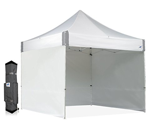 E-Z UP ES100S Instant Shelter Canopy, 10 by 10', White by E-Z UP