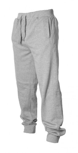 Urban Classics Hommes Straight Fit Sweatpants TB252, taille:XXL, couleur:grey