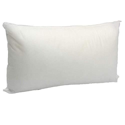 (12 X 24 inches Pillow Sham Stuffer White Rectangular Hypoallergenic Pillow Insert Premium Made in USA)