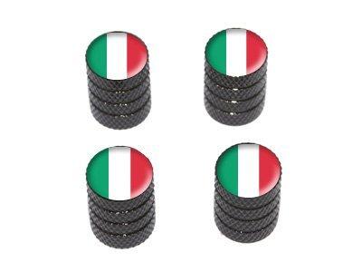 Italy Italian Flag Valve Black