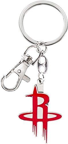aminco NBA Houston Rockets Schwerer Schlüsselanhänger