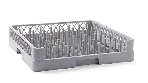 HENDI Cesta de lavavajillas para bandejas - 500x500x(H)100 mm ...