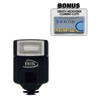 (318AF Digital Slave Flash For Use For The Fujifilm FinePix S9000, S7000, S3 Pro, S20 Pro, S2 Pro, S602 Digital Cameras)