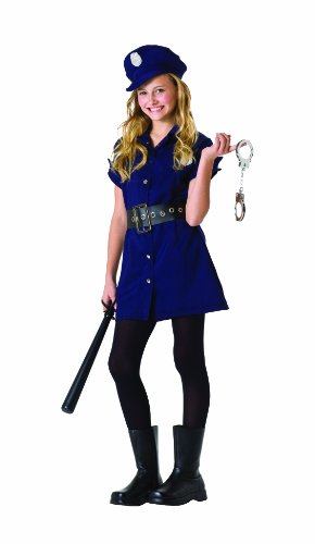In The Line Of Duty Costumes (RG Costumes In The Line of Duty, Child Large/Size 10-12)