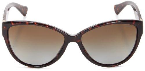 7044d67351a66 Amazon.com  Ralph Lauren womens 0RA5176 502 T558 Polarized Cat-Eye  Sunglasses